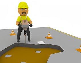 3D model Breaker Man