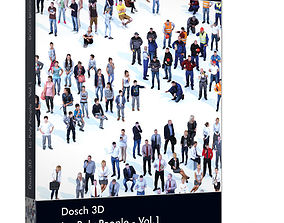 Dosch 3D - Lo Poly People Vol 1 realtime