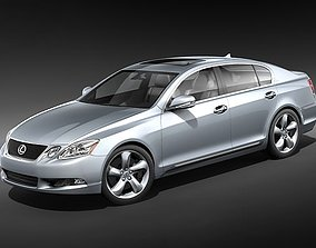 3D model Lexus GS 350