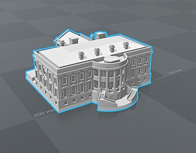 3D printable model White house