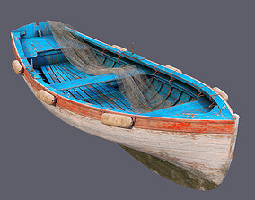 Old fishing boat 2 old 3D