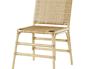 3D model Rattan chair MD44