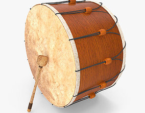 3D Turkish Folcloric Drum