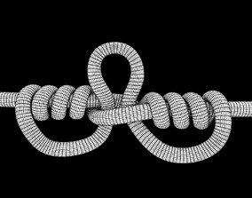 dropper loop knot 3D asset realtime