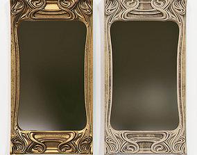 Art Nouveau Mirror 3D 3D model