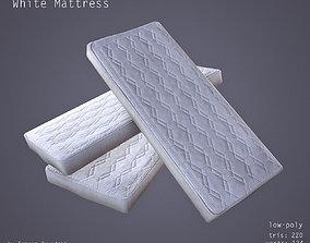 3D model low-poly Mattress - Low Poly