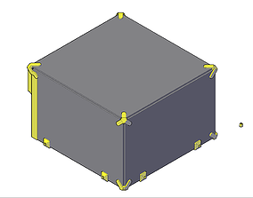 3D printable model Ultimaker 2 Extended top box