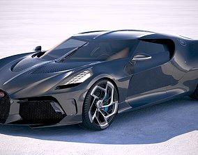 3D model Bugatti La Voiture Noire 2019