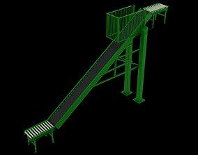 3D Conveyor Belt Rack