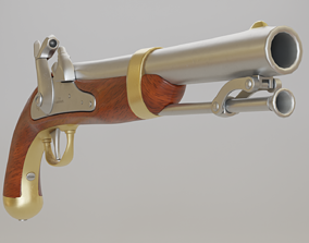 US Model 1842 Percussion - PBR realtime