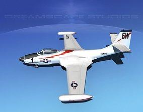 3D model McDonnell F2H2 Banshee V10