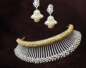 3D printable model necklace Necklace
