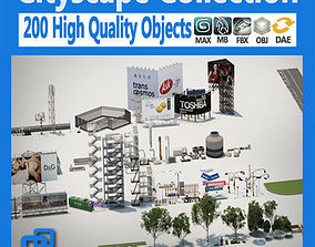 Cityscape Collection 3D model