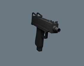 Submachine Gun Mac-10 3D model