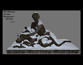 3D model woman statue 3
