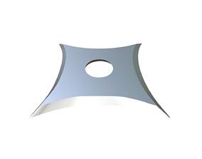star 3D print model Shuriken