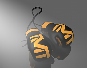 3D print model boxe glove mayweather -the money