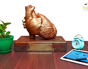 3D printable model Heart sculpture Ready to Print