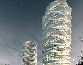 3d building 716