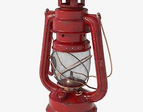 Oil Lantern 3D asset