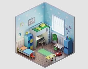 room 33 3D asset realtime