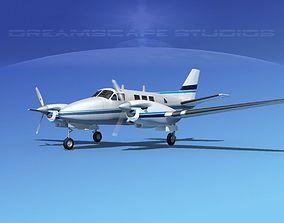 3D model Beechcraft King Air C90 V04