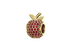 sweet apple charm ball 3D print model