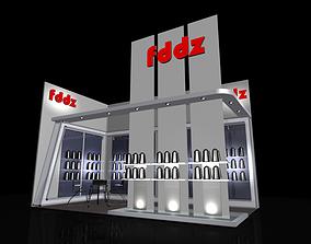 stall design 3D print model