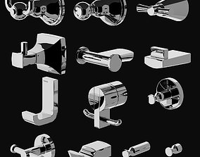 3D Toto Robe Hook Collection