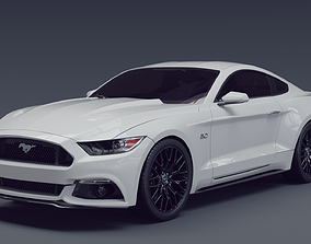 Ford Mustang 2015 gt 3D model