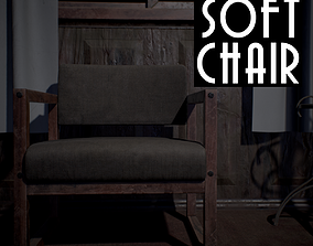 Soft Chair 3D model