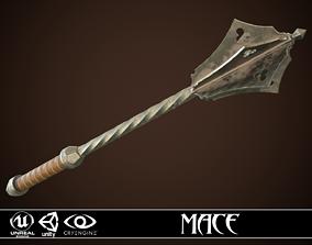 3D asset Mace 06