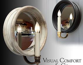 3D model Visual Comfort Chelsea Medium Reflection Sconce