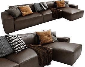 Jesse Daniel Chaise Lounge 3D model