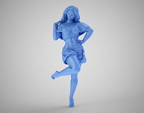 3D print model Pretty Lady at Home