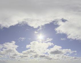 3D model Skydome HDRI - Day Clouds II