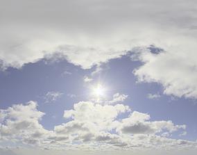 Skydome HDRI - Day Clouds II 3D model
