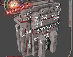 PBR Building 3D model