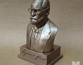 3D print model Sigmund Freud - Bust portrait