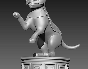3D printable model Cat in armour