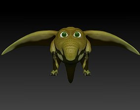 Flying Germ 3D asset