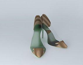 LynPod Dual Shoe (Seperated glass) 3D model