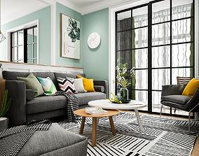 Scandinavian Style House - S27 - Idea 3D model