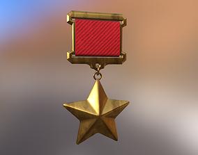 Medal 3D asset game-ready