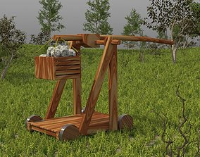 3D animated Trebuchet