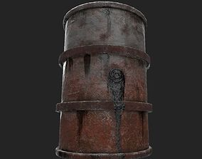 realtime Fuel barrel - Low poly - UE4 2048k - Low poly 1