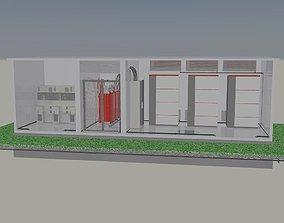 3D Inverter - transformer station