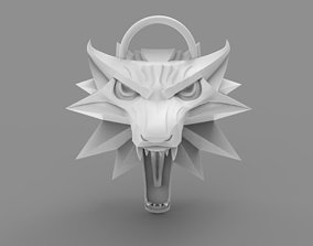 Witcher Wolf pendant 3D print model