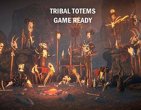 3D model Tribal totems