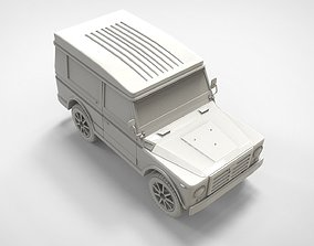 3D model High Poly Car